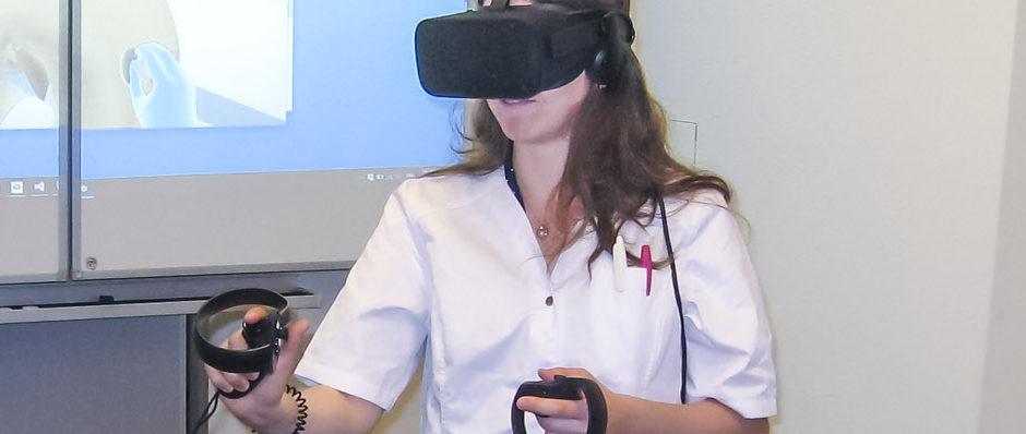 Formation incendie en réalité virtuelle
