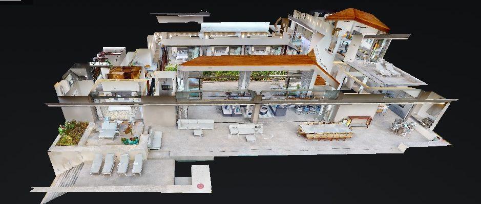 Visite virtuelle immersive 3D